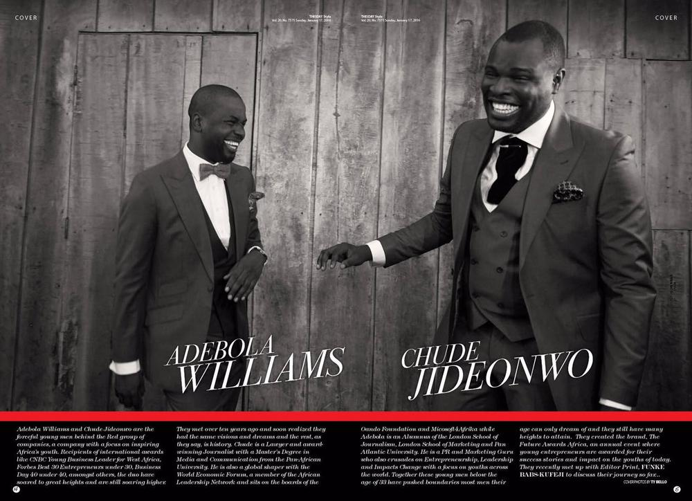 Chude and Debola in ThisDay Style