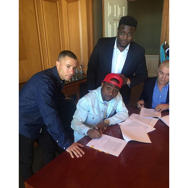 Davido Signs Global Deal