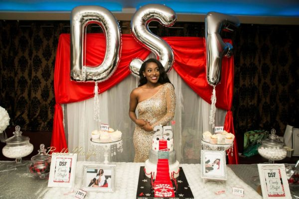 All white everything photos from dorcas shola fapson s for 25th birthday decoration ideas