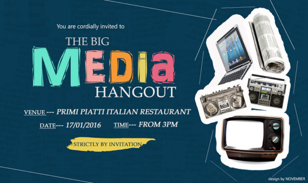 FLIER FOR MEDIA HANGOUT