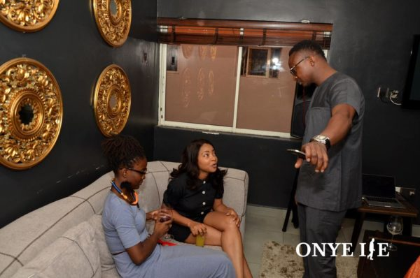 Folu Storms, Linda Ejiofor and Funnybone