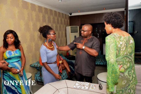 Folu Storms ,Uzo Nwagwu, Chioma Onyenewe and Tanya Spencer