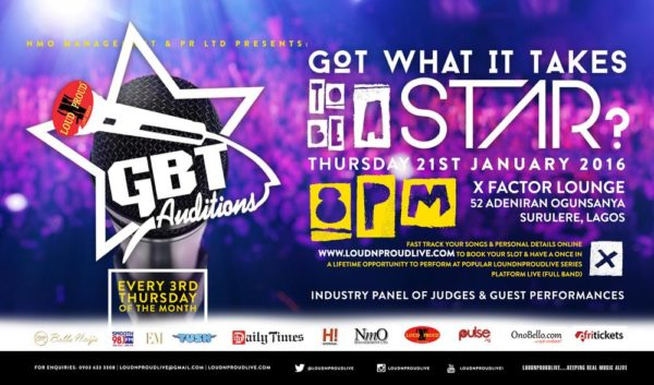 GBTAUDITIONS
