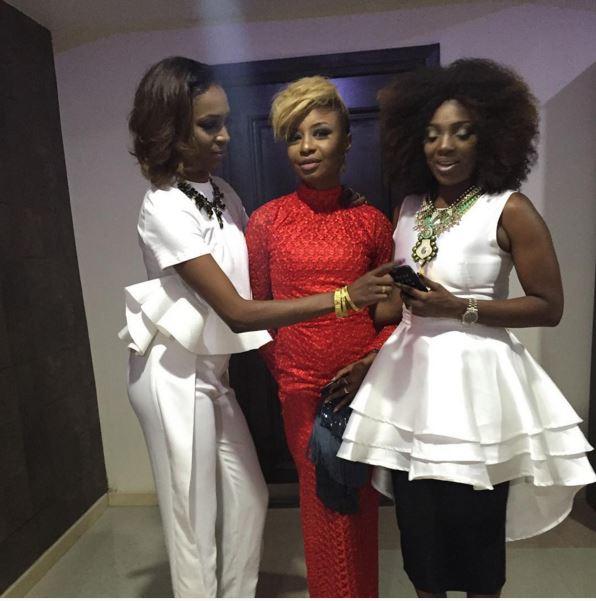 Hauwa Mukan, Zed-Eye & Annie Idibia