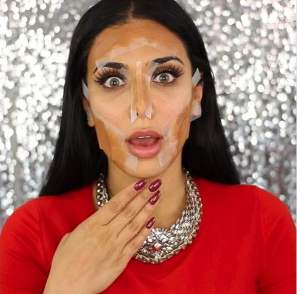 Huda Kattan Huda Beauty Highlight and Contour Tutorial - BellaNaija - January2016