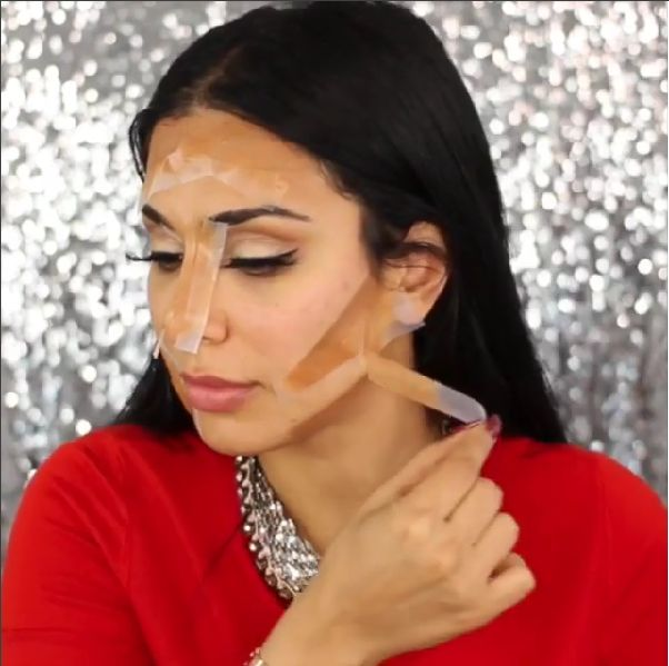 Huda Kattan Huda Beauty Highlight and Contour Tutorial - BellaNaija - January2016002