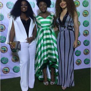 Jackie Appiah, Omawumi and Nadia Buhari