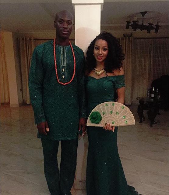 Kandi Ejiofor and Dele