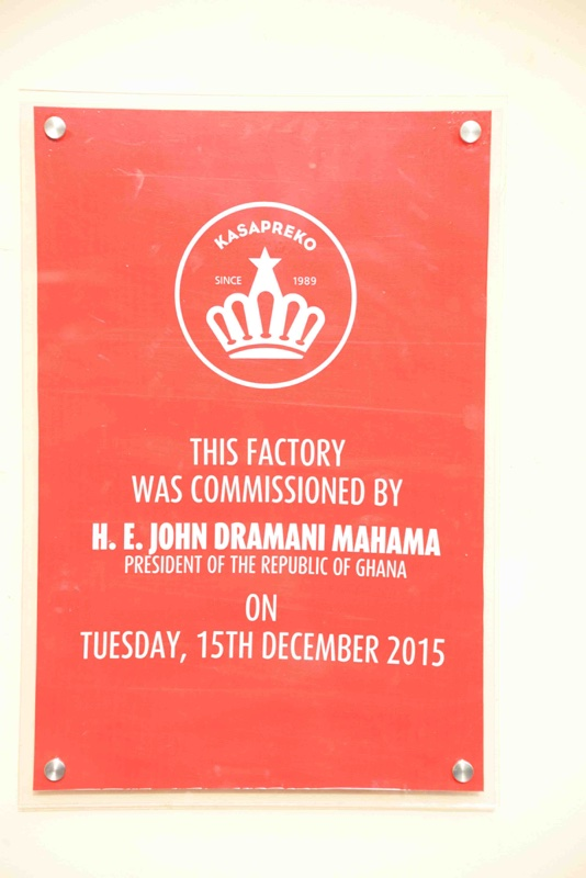 Kasapreko Ghana Factory Launch with President Mahama64