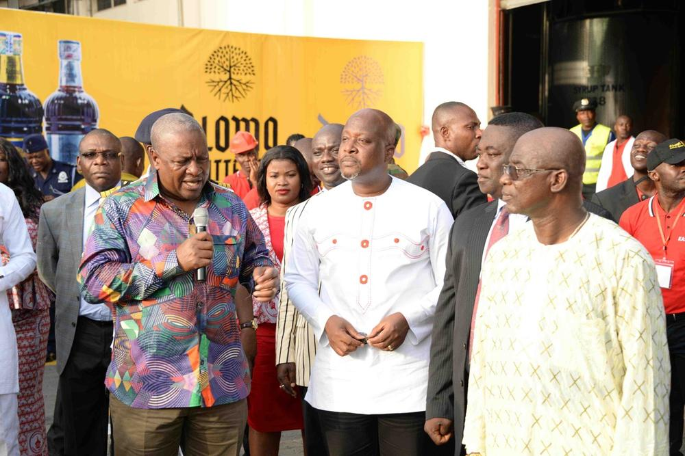 Kasapreko Ghana Factory Launch with President Mahama65