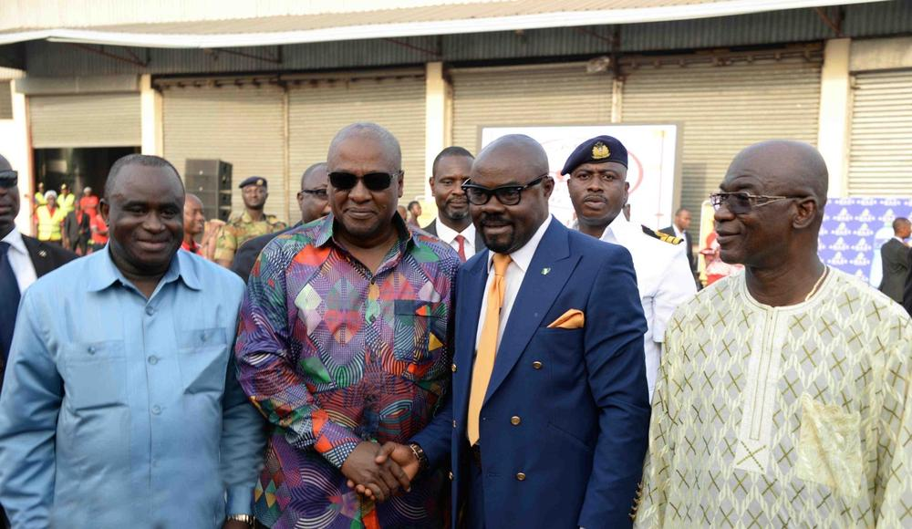 Kasapreko Ghana Factory Launch with President Mahama66