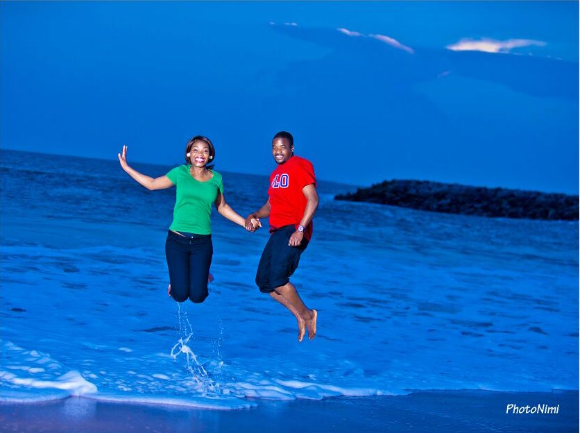 Kashi and Rotimi Pre-Wedding Photo Shoot_Beach 1