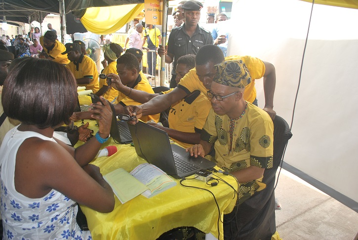 MTN Ambassadors Register Customers 2