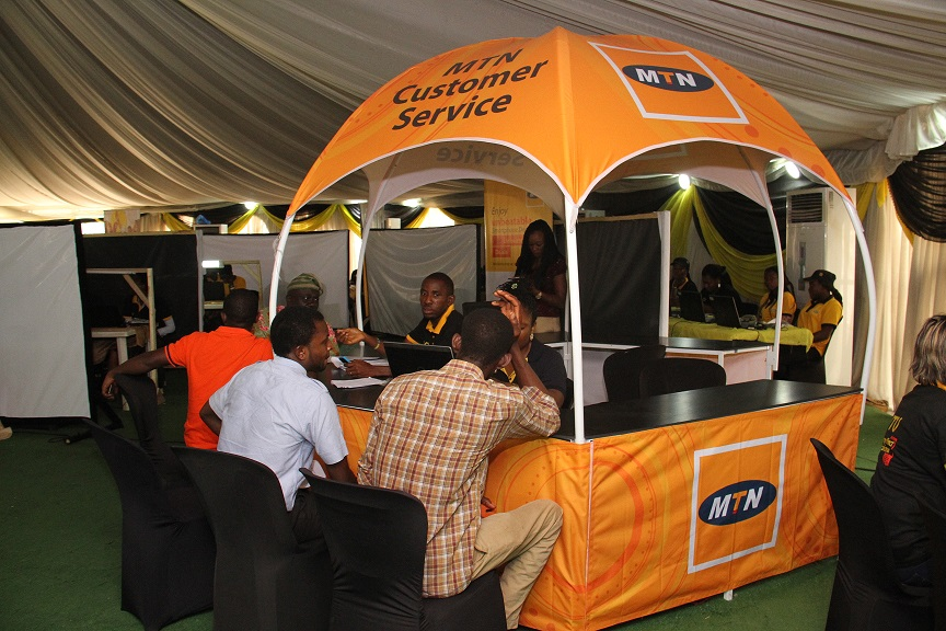 MTN Ambassadors Register Customers 7
