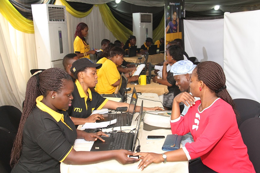 MTN Ambassadors Register Customers 8