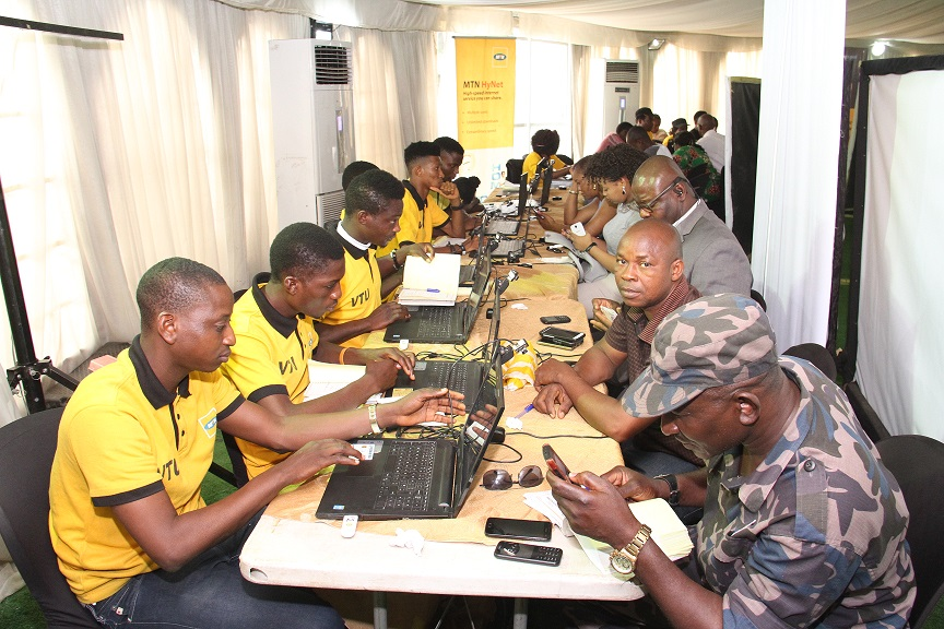 MTN Ambassadors Register Customers 9