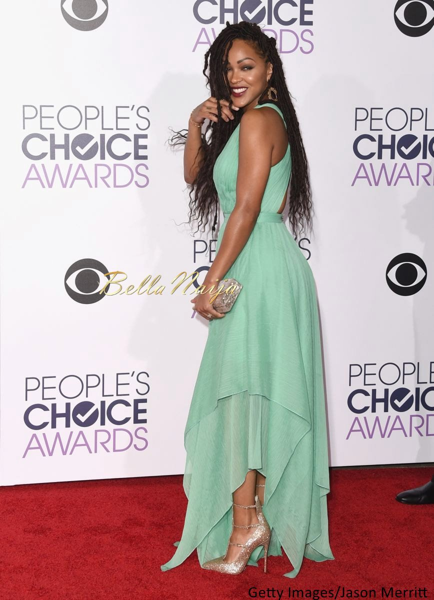 Meagan Good at the Peoples Choice Awards 2016 - BellaNaija - Januray2016002