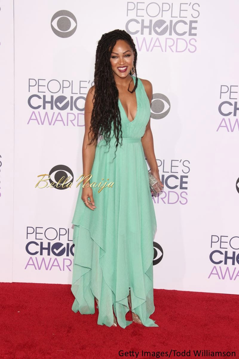 Meagan Good at the Peoples Choice Awards 2016 - BellaNaija - Januray2016004