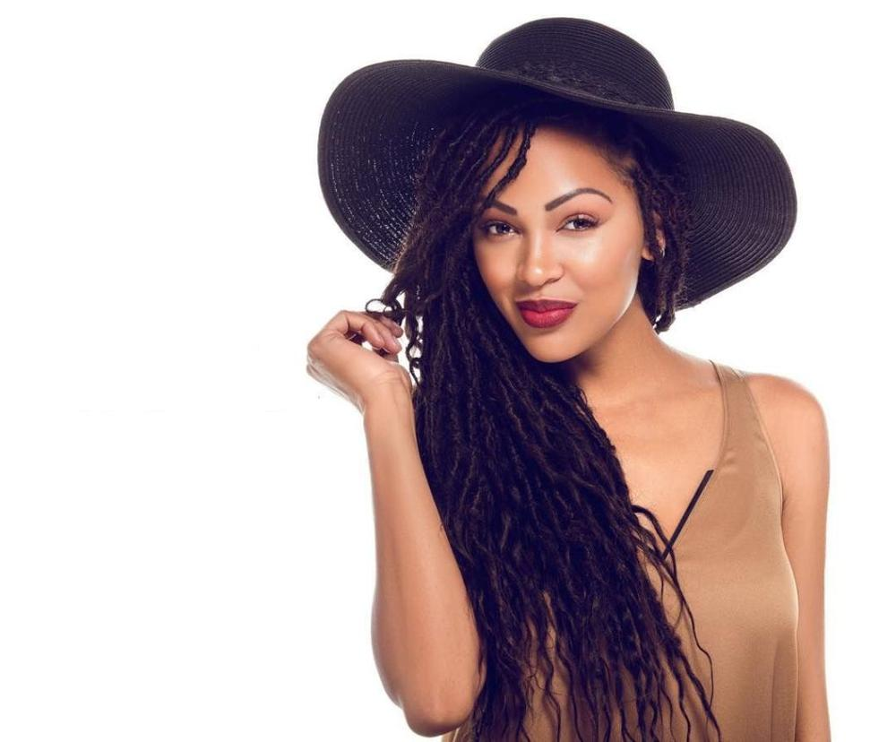 Meagan Good for Goddess Faux Locs Campaign - BellaNaija - January2016 Music Girl Cover Photos For Facebook