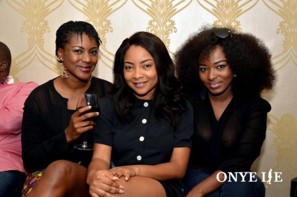 Kiki Omeili (Host of the Show), Linda Ejiofor & Meg Otanwa