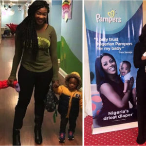 Mercy Johnson-Okojie and Tiwa Savage