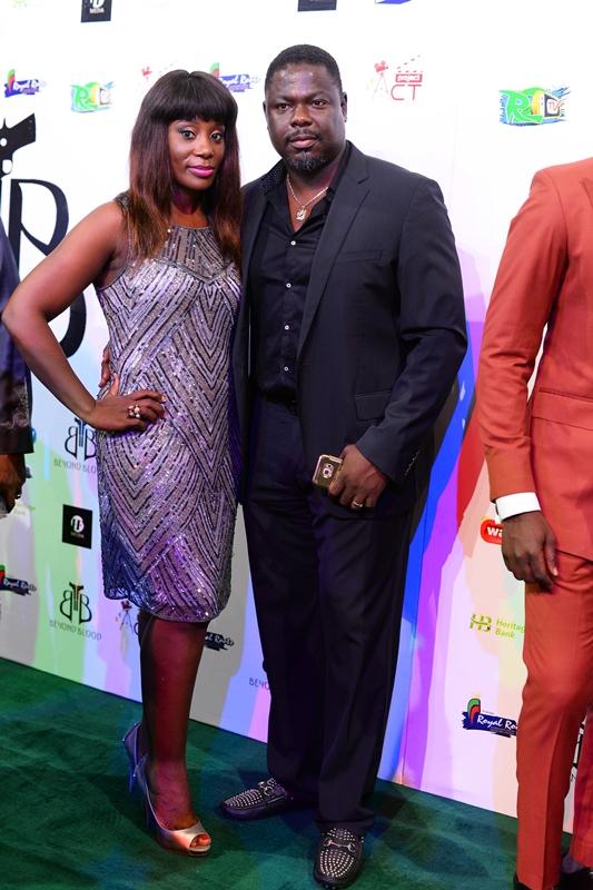 Mr. Bidemi Fahm (CEO HF Media _ Executive Producer of Beyond Blood) _ His beautiful Wife