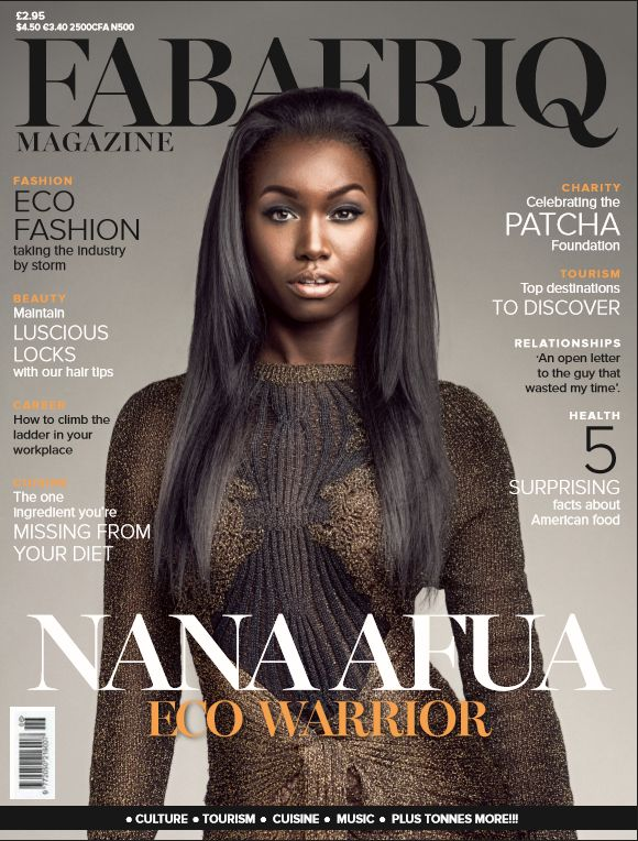 Nana Afua Antwi for FabAfrique Magazine - BellaNaija - January 2016