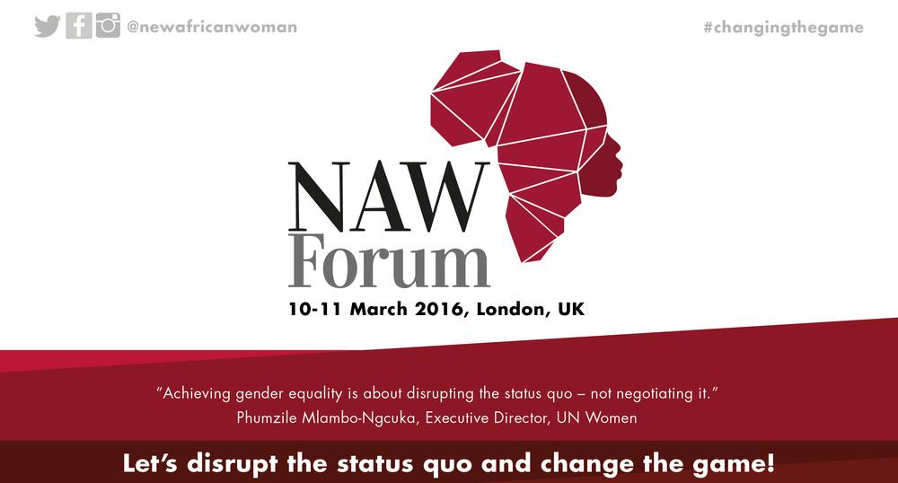 New African Woman Forum 2016