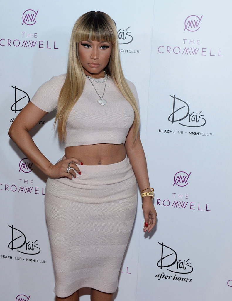 New Year New Style See Nicki Minaj 39 S First 2016 Look Bellanaija