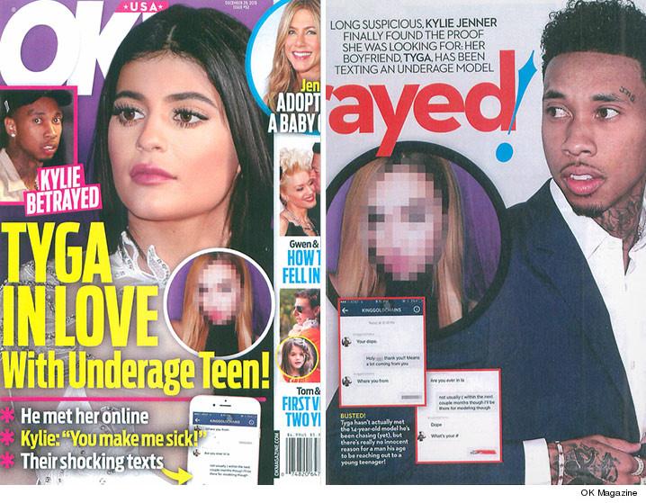 OK Magazine Tyga