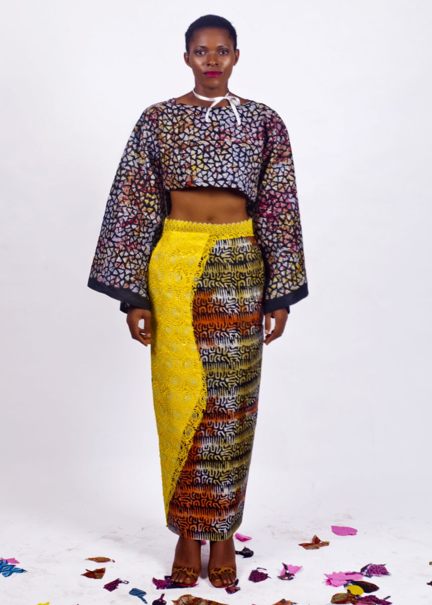 Yes Adire Speaks English View The Unconventional Collection By New Nigerian Designer