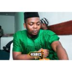 Olamide backstage yesterday