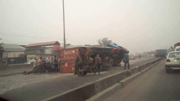 Oshodi Apapa Accident 2