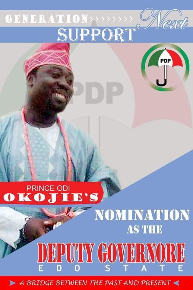 Prince Odi Okojie Edo State 1