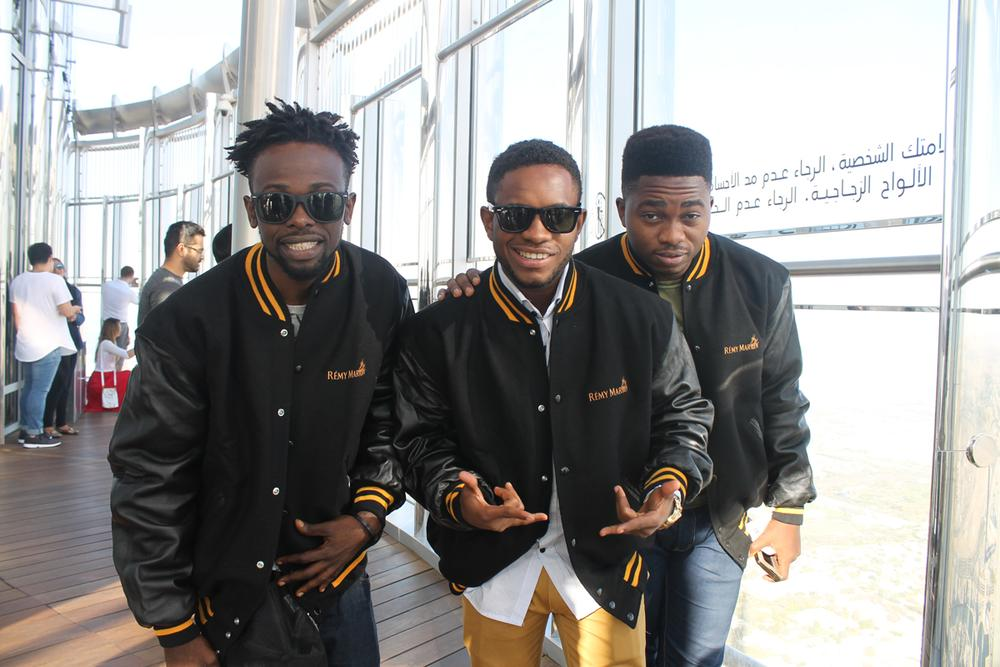 Remy martin danceoff winners at burj khalifa