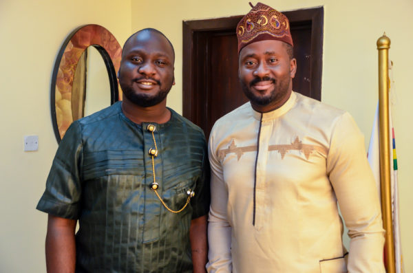 Segun Williams - Writer Director and Executive Producer with Desmond Elliot