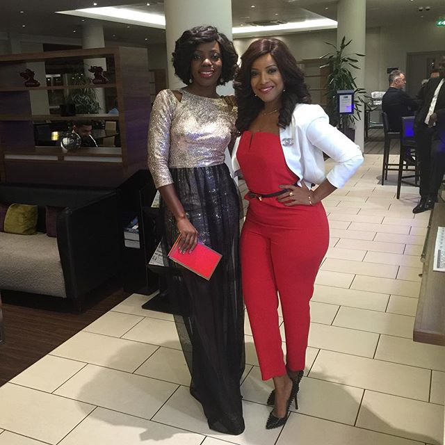 Shirley with Joselyn Dumas