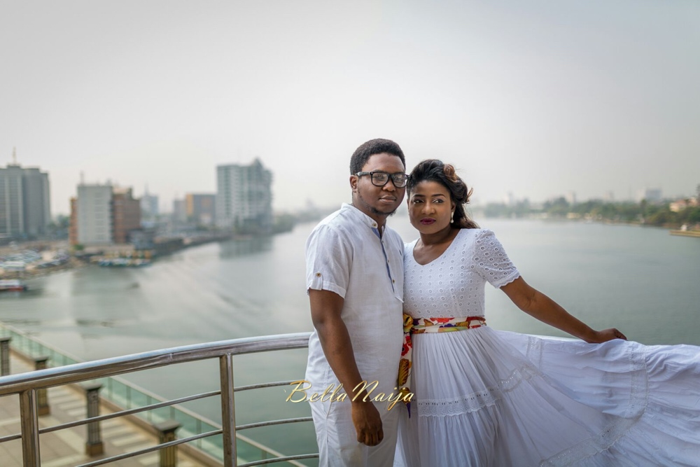 Spellz the Producer and Dije Badaki Pre-Wedding Shoot_IMG-20160117-WA0000