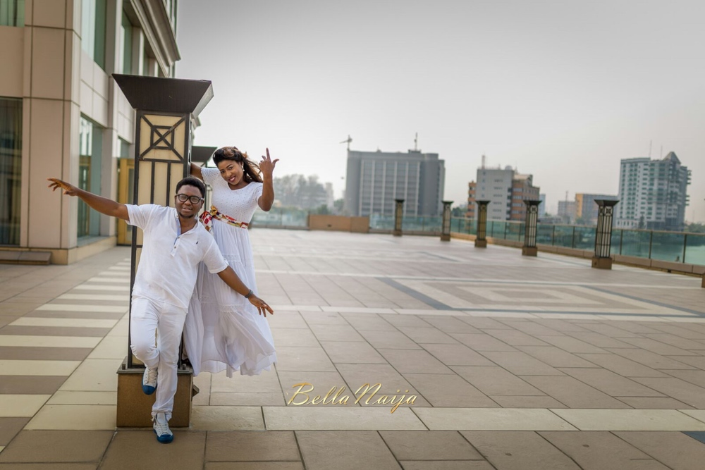 Spellz the Producer and Dije Badaki Pre-Wedding Shoot_IMG-20160117-WA0002