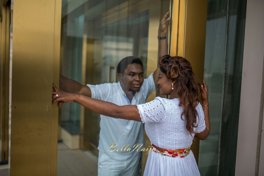 Spellz the Producer and Dije Badaki Pre-Wedding Shoot_IMG-20160117-WA0004