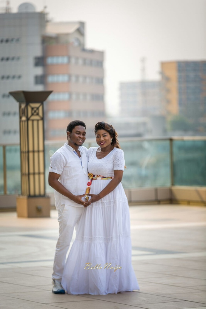 Spellz the Producer and Dije Badaki Pre-Wedding Shoot_IMG-20160117-WA0005