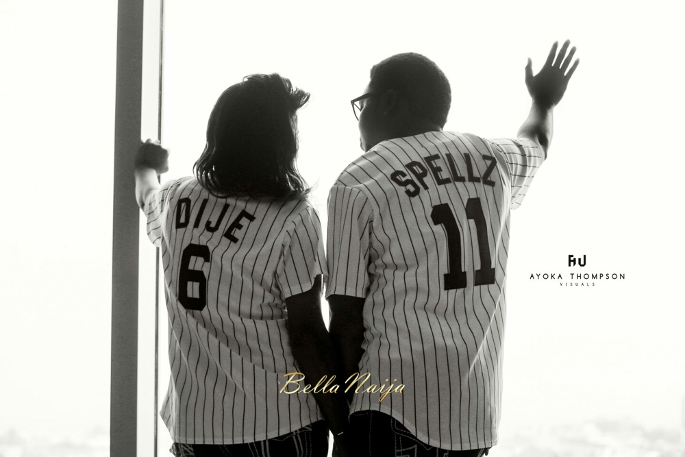Spellz the Producer and Dije Badaki Pre-Wedding Shoot_IMG-20160117-WA0014