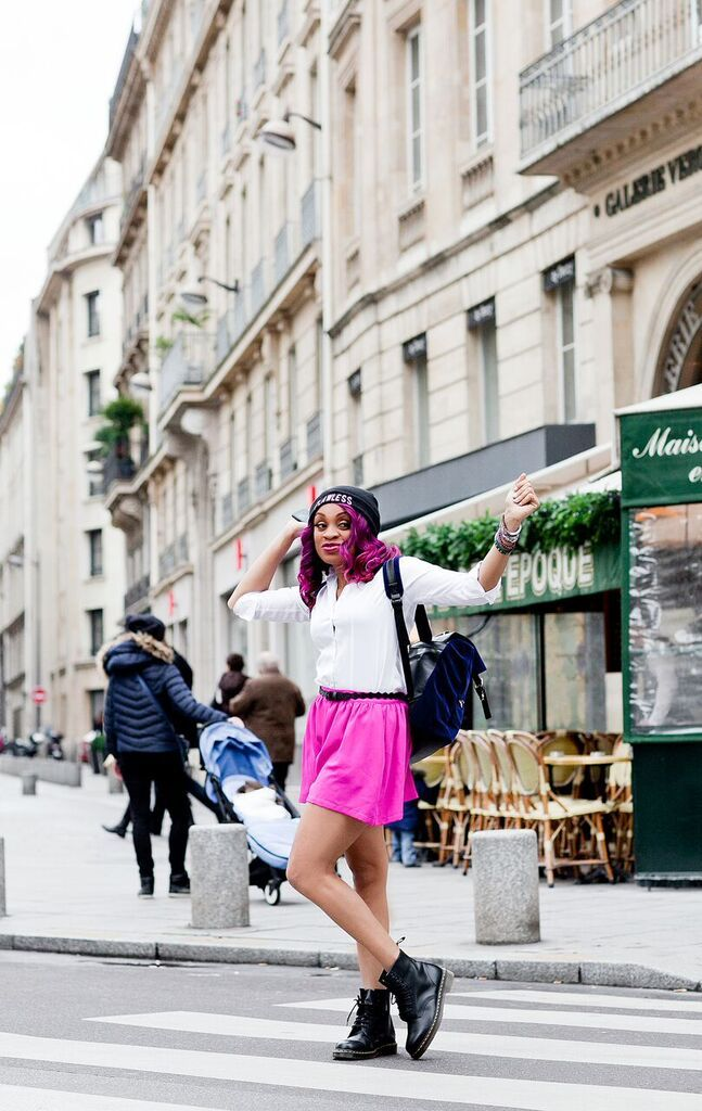 Stephanie Okafor of Metrogypsie in Paris - BellaNaija - Januray2016017
