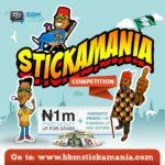 Stickamania Competition 2016 BellaNaija copy