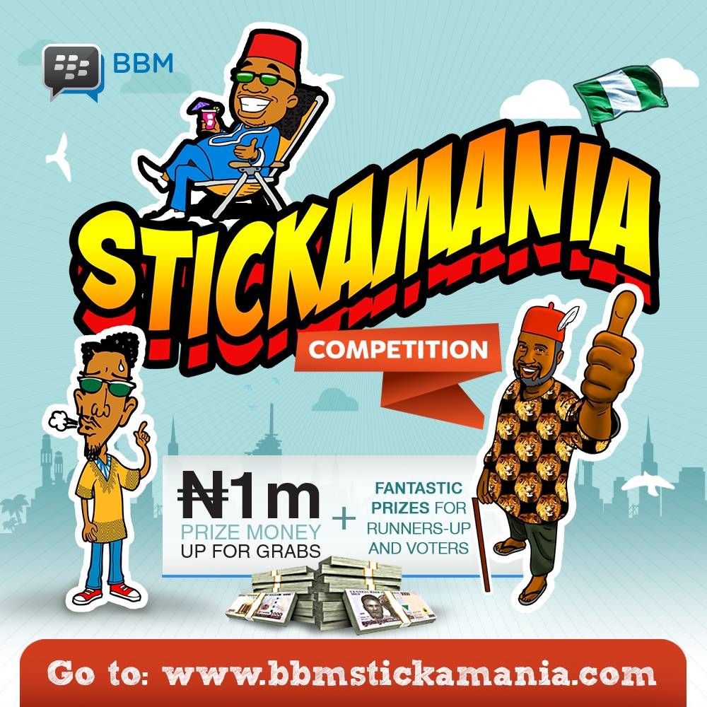 Stickamania Competition 2016 BellaNaija copy