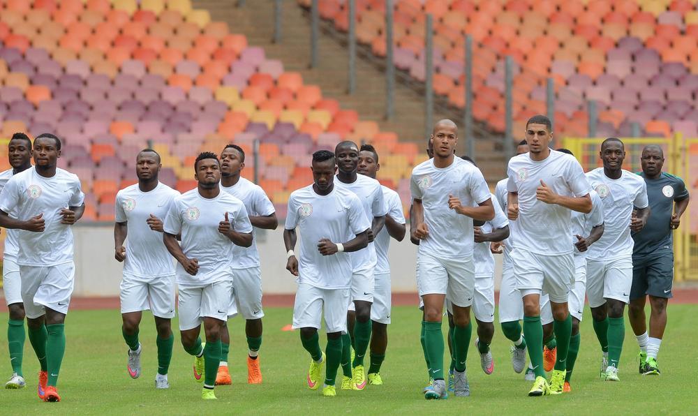 Image result for Super eagles of Nigeria training 2016