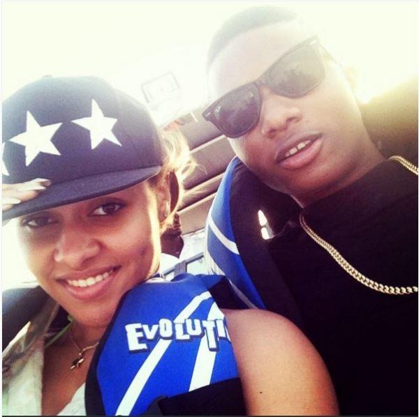 Tania Omotayo & Wizkid
