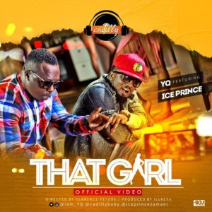 'That Girl' YQ ft. Ice Prince (CADILLY) art