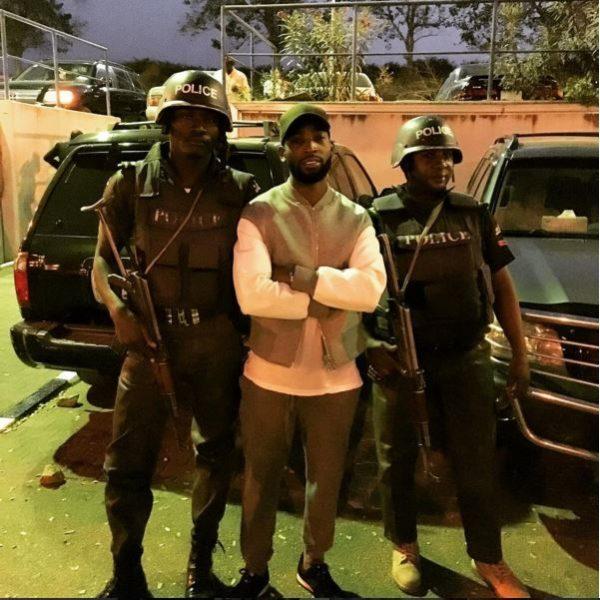Tinie Tempah in Lagos 2
