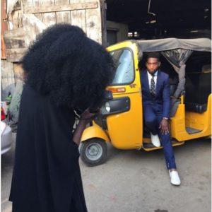 Tinie Tempah in Lagos